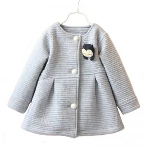 Autumn Girls Coat - Baby Penguin