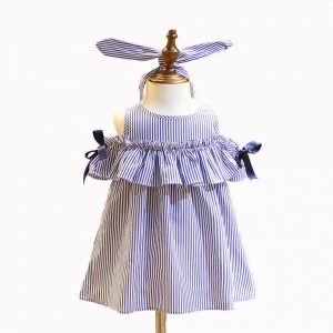 Summer Girl Dress - Ruffles and Off Shoulder