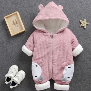 New Baby Overalls for Winter - Rabbit and Bear Hoodie