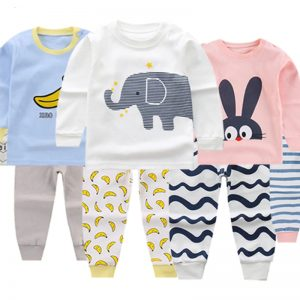Autumn/Winter Children Pyjamas - Animal Cartoon