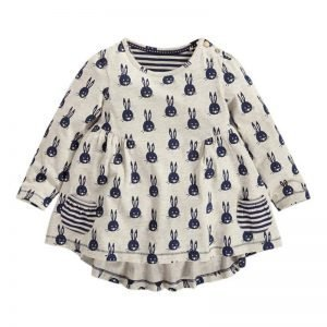 Autumn/Winter Long Sleeve Bunny Printed Top