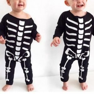 Halloween Skeleton Costume For Baby - Jumpsuits