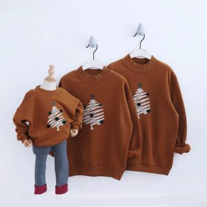 Matching Clothes Family Matching Pullovers - Christmas Tree