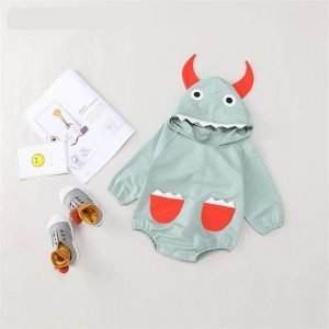 Animal cartoon hooded bodysuit - Halloween costume