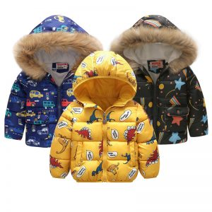Winter Kids Jackets - 1-6 years old