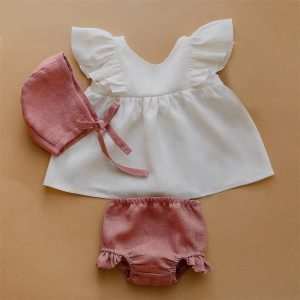 Summer Linen Sets - For 0 - 24 Months Babies