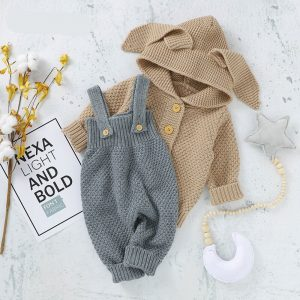 Children Rabbit Hooded Sweaters + Jumpers