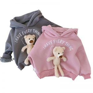 3D Teddy Bear - Hoodies Baby and To